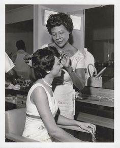 Rose Morgan. Owner of The Rose Morgan House of Beauty. New York People, Skin Care Specialist, African American Fashion, Vintage Black Glamour, House Of Beauty, Vintage Pictures, Black People, Black History, Hairdresser