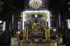 Bike Tour in Bangkok mit Co van Kessel Der chinesische Temple in China Town während der Co Classical Tour