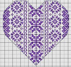 Cross Stitching, Cross Stitch Embroidery, Embroidery Patterns, Wedding Cross Stitch Patterns, Cross Stitch Designs, Cross Stitch Heart, Cross Stitch Flowers, Stitch Witchery, Cross Stitch Freebies