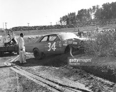 Wendell Scott Talladega Crash | News Photo: Wendell Scott experienced a crash and exited the…