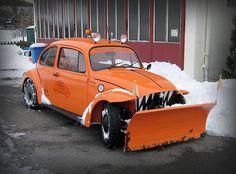 beetle vw snow plow