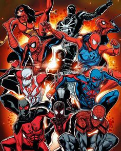 The Spider-Verse by Will Sliney