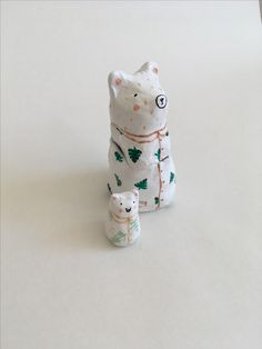 Ceramic Matrioska Bear home decor by Fru Farkas @manarddesign