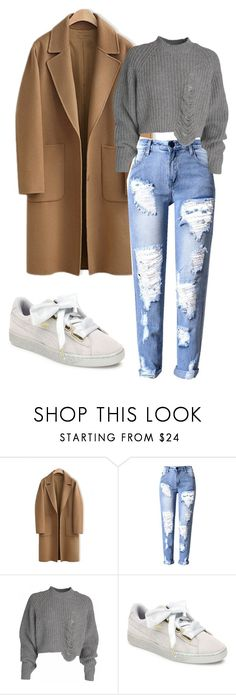 """Untitled #168"" by vega-skouboe-lindberg on Polyvore featuring WithChic and Puma"
