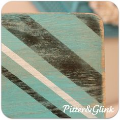 {Striped, Embellished Frame}