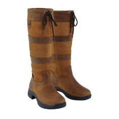 Dublin® RCS Tall River Boots offer the rider exceptional comfort. Waterproof, breathable and stirrup-friendly, this country boot features HBR® Membrane Technology, a PST sole and the RCS for support. Muck Boots, Tall Boots, Riding Boots, Dublin Boots, Dover Saddlery, Country Boots, English Riding, Slipper Boots, Shoe Closet