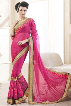 Buy This Magenta Chiffon Heavy Border Work With Thread Designer Party Wear Saree. Buy Now:-http://www.lalgulal.com/sarees/magenta-chiffon-heavy-border-work-with-thread-designer-party-wear-saree-713 Cash On Delivery & Free Shipping only in India.For Other Query Just Whatsapp Us on +91-9512150402 Or Mail Us at info@lalgulal.com. #Partywearsaree #bridematesaree #designersaree #silksaree #lalgulal #festivalwearsaree #weddingcollection #weddingsaree #cashondelivery