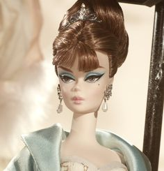 Barbie's eyes.  Party Dress Barbie® Doll | Barbie Collector