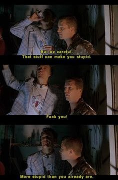 SLC Punk- I had such a crush on Mathew Lillard in this movie.