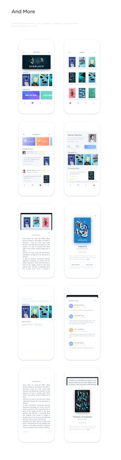 Reading Project Study Case on Behance
