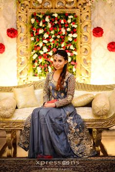 Photography by xpressions Dulhan Dress, Pakistani Wedding Dresses, Wedding Moments, Bridal Looks, Shades Of Grey, Party Wear, Desi, Beautiful Dresses, Casual Dresses