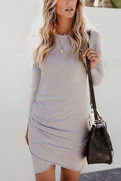 4b5c20af07f3 7 Best Maxi t-shirt dress images   Maxi tshirt dress, Dress skirt ...