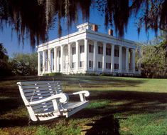 """Greenwood Plantation, St. Francisville, LA. The B&B on site is okay, but the grounds and the house are gorgeous. The house was David Carradine's house in the """"North and South"""" miniseries that was filmed in the 80's."""
