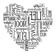 Hart Even in word spiegelen!