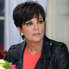Znalezione obrazy dla zapytania mama kardashian haircut