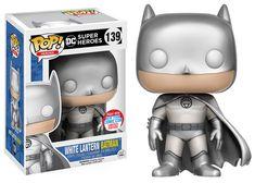 NYCC 2016 Wave 2 - Pop! Heroes: DC Heroes - White Lantern Batman