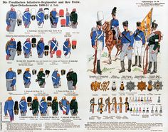 Prussian Infantry and Jaegers 1808-1814