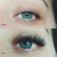 eyelash extension before after - Sök på Google