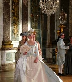 Kirsten Dunst in the title role of Marie Antoinette (2006). Period drama