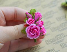 Blossom. Бижутерия. Украшения. Полимерная глина.