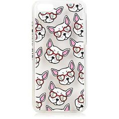 Frenchie Iphone 5c Case by Skinnydip (€16) ❤ liked on Polyvore featuring accessories, tech accessories and multi