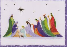 Christmas card - The Nativity 2