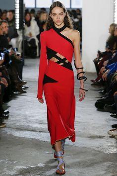 Proenza Schouler Fall 2017 Ready-To-Wear: Look 11 Model: Emm Arruda