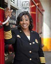 Rosemary Roberts Cloud - First AA Female U.S Fire Chief.