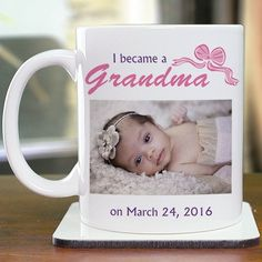 Personalized New Parent Photo Mug - Gifts Happen Here - 1
