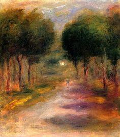 Landscape with Trees - Pierre-Auguste Renoir