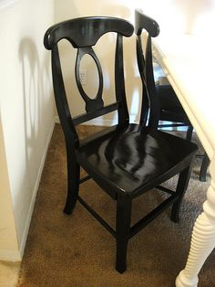 Refurbishing chairs and table