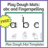 Nellie Edge ABC Play Dough Mats: ABC and Fingerspelling FREE + recipe! Play dough develops small finger muscles for writing & provides rich social context for language & concept development. Use abc mats for word work! Kindergarten Handwriting, Kindergarten Literacy, Handwriting Ideas, Handwriting Activities, Literacy Skills, Literacy Centers, Finger Strength, Professional Learning Communities, Abc Phonics