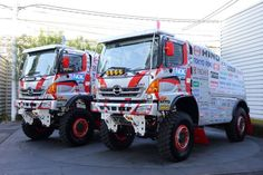 ... drive Hino 500-Series trucks ready for Dakar 2015 in South America