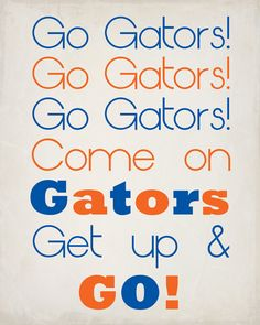 #Go Gators #Karrie Drake Photography