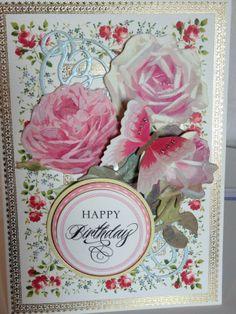 """Anna Griffin card """"Happy Birthday"""""""