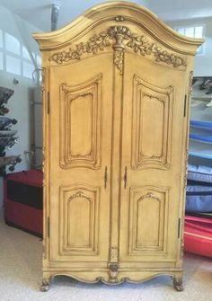 Armoire Vintage French Provincial Country by ProvincialButFrench