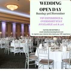Enjoy your wedding reception or civil ceremony at the Kenmare Bay Hotel in our beautifully appointed wedding banqueting suite with breathtaking mountain views Cork Wedding, Wedding Fayre, Hotel Wedding, Wedding Reception, Wedding Venues, Wedding Consultant, Civil Ceremony, Opening Day, Evening Meals