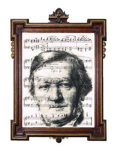 Richard Wagner ~ Lohengrin art print