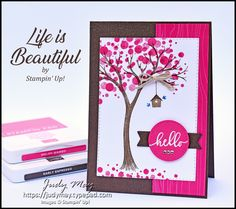 Stampin' Up! Life is Beautiful Stamp Set - Judy May, Just Judy Designs, Melbourne