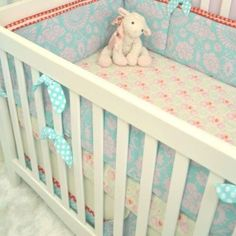 Amazon.com: Lily 3 Piece Crib Bedding Set by Persnickety Bedding: Home & Kitchen