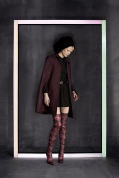 Cool classic from the Louis Vuitton Prefall 2014-2015 Collection.