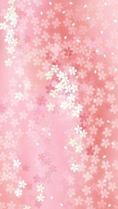 Pure Dreamy Flower Pattern Background