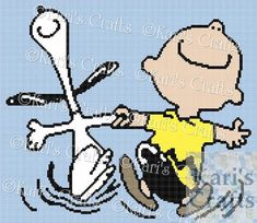 Christmas Yarn, Crochet Baby Blanket Free Pattern, Wedding Cross Stitch Patterns, Knitted Afghans, Charlie Brown And Snoopy, Crochet Cross, Yarn Needle, Things To Sell, Dancing
