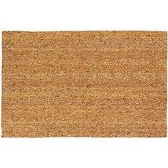 USCOA Intl 21562 DeCoir Brush Entrance Mat - Natural Tan by USCOA Intl. $10.84. DeCoir brush entrance mats combine a natural elegance with superior cleaning performance. DeCoir mat is manufactured in the USA from natural coir (coconut) fiber bristles which are inserted into a weatherproof vinyl backing. The bristles offer a unique brush style cleaning surface. This cleaning feature is far superior to that of imitation cocoa mats and other synthetic mats. DeCoir mat ...