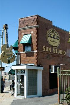 Sun Studio in Memphis, TN - www.VacationsMadeEasy.com
