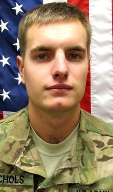 Army SPC. Rob L. Nichols, 24, of Colorado Springs, Colorado. Died July 23, 2013, serving during Operation Enduring Freedom. Assigned to 3rd Battalion, 15th Infantry Regiment, 4th Infantry Brigade Combat Team, 3rd Infantry Division, Fort Stewart, Georgia. Died in Soltan Kheyl, Vardak Province, Afghanistan, of wounds sustained when enemy forces attacked his unit with an improvised explosive device.