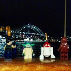 Not a bad view tonight from the Manly Ferry. #sydneyharbourbridge #australiagram_nsw #starwarslego #starwarsnerd #starwars #lego #manlyferry #sydney #beyondthewharf #harbourcityferries#crewandshipyard by trumpy78 http://ift.tt/1NRMbNv