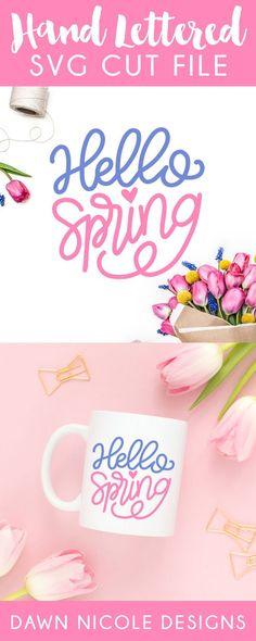 Watercolor floral wreath monogram maker free printable monograms hello spring svg cut file spiritdancerdesigns Gallery