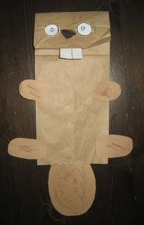 Paper Bag Beaver Puppet for Canada Day. A good way to practice cutting out shapes. Paper Bag Beaver Puppet for Canada Day. A good way to practice cutting out shapes. Daycare Crafts, Crafts For Kids, Craft Kids, Canada Day Crafts, Canada Day Party, Paper Bag Crafts, Paper Bags, Beaver Scouts, Paper Bag Puppets