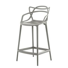 CASANOVA Møbler — KARTELL - Masters barstol - grå